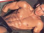 muscle male model TJ Hoban