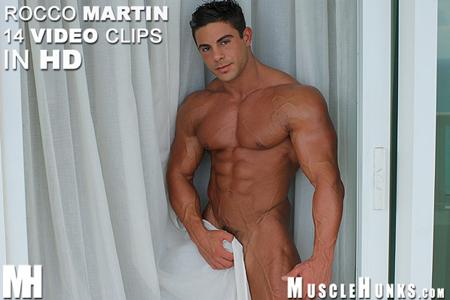 Muscle Hunk Musclehunks Rocco Martin