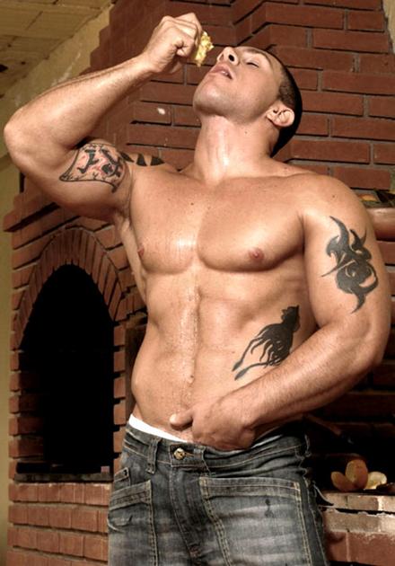 Big Muscle Hunk Samuel
