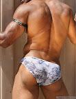 Muscle Hunk American Gladiator - Alex Castro