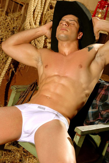 Alejandro Hot Muscle Cowboy