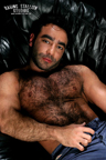 Huessein - Hairy Muscle Hunk Gay Porn Star