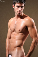 Sexy Hairy Muscle Man - This guy is very handsome with full sexuality