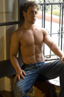 Sexy Muscle Men in Jeans