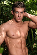 Sexy Handsome Muscle Man Zach Jonathan