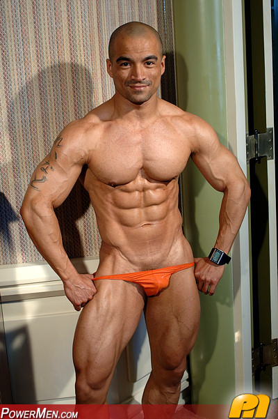 Papi Rolando Espinoza - Muscle Hunk from PowerMen
