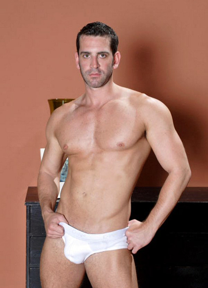 Matt - Sexy Muscle Man in White Underwear