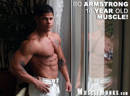 Hot Muscle Man - Bo  Armstrong - MuscleHunks HD