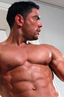 Khalid Ezra, a handsome muscleman
