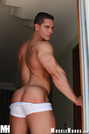 Logan Lewis - Tall, Dark and Handsome Muscle Hunks