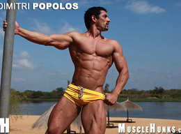 Dimitri Popolos - Greek God Muscle Hunks with Awesome Physique