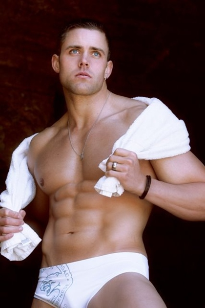 Hot Muscle Men and Bodybuilders with Towels - Gallery 5