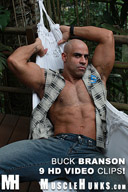 MuscleHunks Buck Branson - Hairy Muscle Daddy