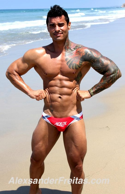 Alexsander Freitas - Bodybuilder and Male Fitness Model Gallery 3