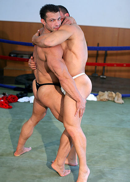 Hot Muscle Wrestler Videos