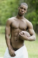 Hot Black Hunks - Sexy Muscle God Gallery 3