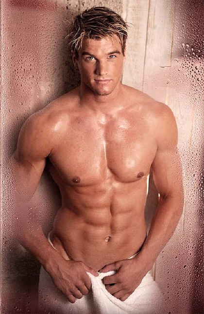 Hot Muscle Hunks Take Shower