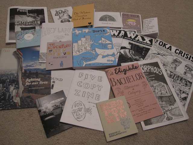 Zines a'plenty
