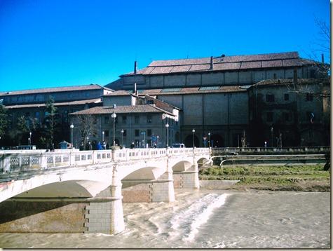 Attilio Bertolucci has never seen a river before...