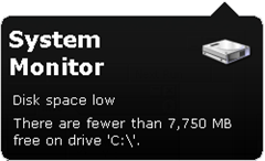 System Monitor Notification