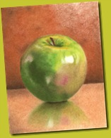 Green_Apple_CP_Drawing_by_golfiscool