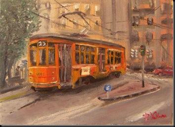 tram giallo