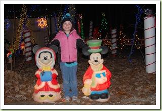 Rocky Ridge Christmas light display