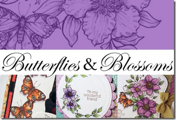 Butteflies and Blossoms Graphic