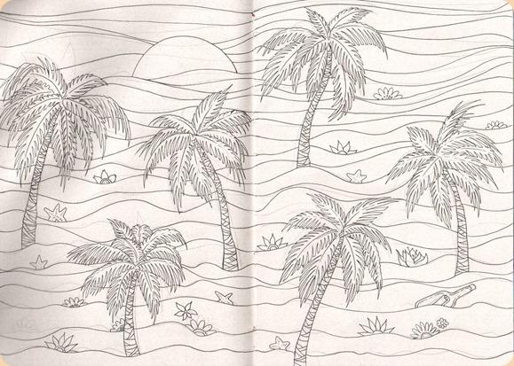 sketch estamparia - coqueiros