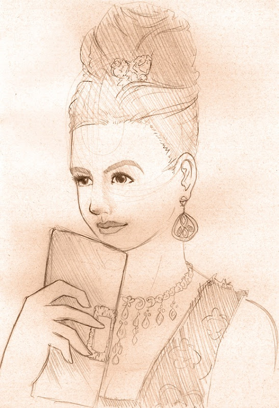 Sketch do dia Anne Hatthaway