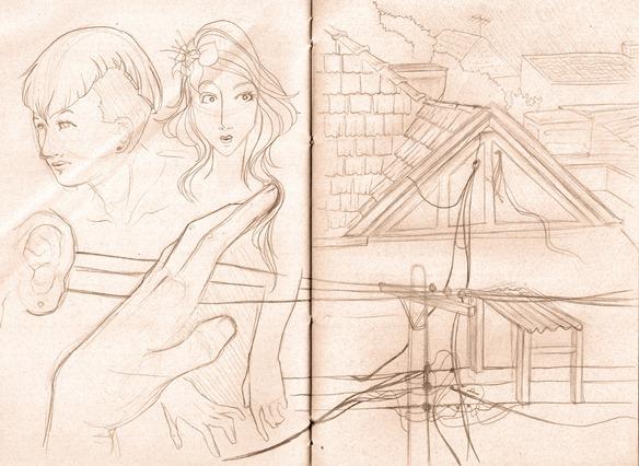 Sketch do dia igreja