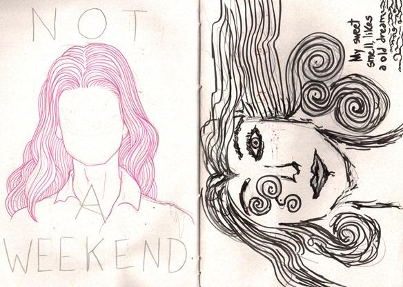 sketch weekend e erica