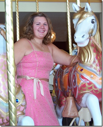 tif with horse