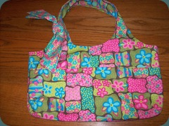 flowery purse 1