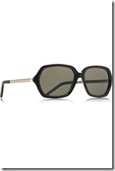 Yves Saint Laurent Square-frame metal and acetate sunglasses