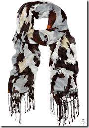 Diane von Furstenberg Joss leopard-print voile scarf