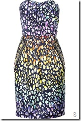 Matthew Williamson Leopard-print silk dress