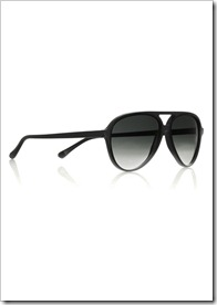 Cutler and Gross Aviator-style acetate sunglasses