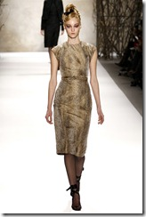 Monique Lhuillier Fall 2011 Ready-To-Wear Collection 1