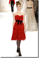 Monique Lhuillier Fall 2011 Ready-To-Wear Collection 12