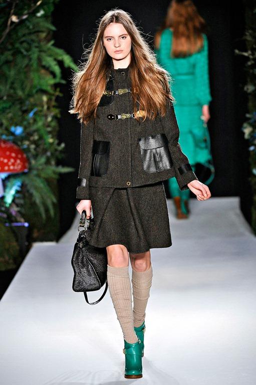 Mulberry London Fashion Week Autumn