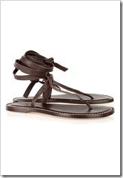 Bernardo Tie multi-strap leather sandals