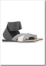 Acne Strain elastic flat sandals