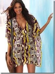 Print Cotton Caftan