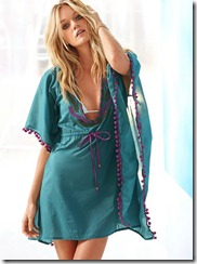Embellished Cotton caftan