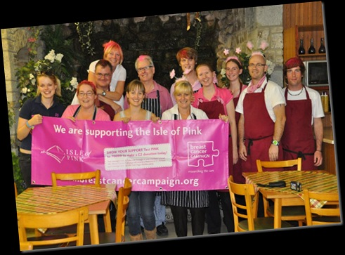 Cafe Team & Breast Cancer Campaigners Sept 10 (resized)