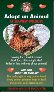 Adopt an animal cover