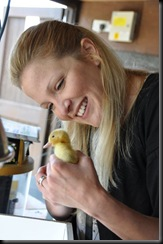 Kate with duckling 0461 - Copy
