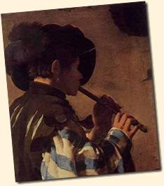 Flautista-Hendrik Terbrugghen