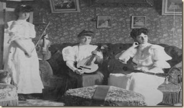 mujeres 1900